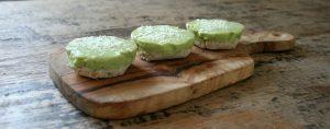 gezonde taart met kokos en avocado - Maike's Eetblog