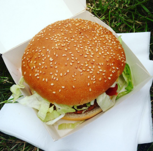 hamburger pinkpop